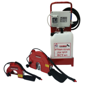 מע' כיבוי אבק חשמלית BCT 9 מתוצרת BRONCO