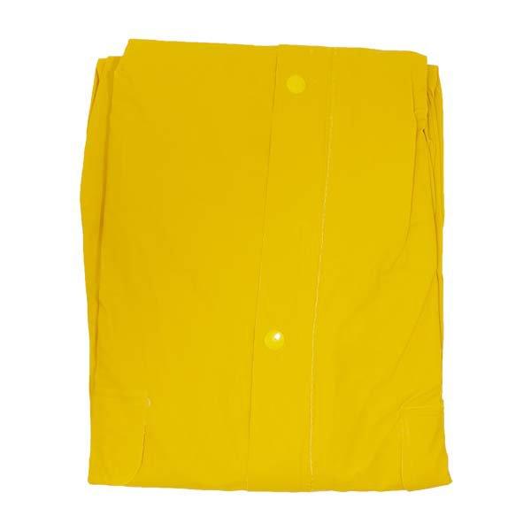 אפעל תיקונים - מעיל גשם PVC צהוב