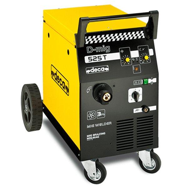 אפעל תיקונים - רתכת CO2 תלת פאזי 220 אמפר 47-D-MIG525