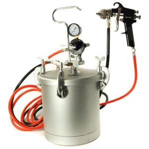 מיכל לחץ 8 ליטר עם צינורות ומרסס 22-PT-8