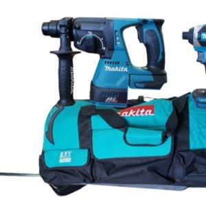 סט כלים נטען ללא פחמים DLX3040M מתוצרת Makita