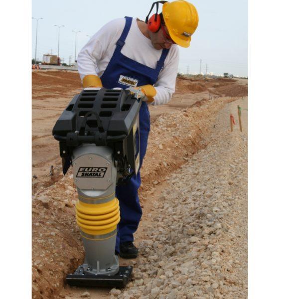 אפעל תיקונים -מהדק אדמה טמפר דגם TC63