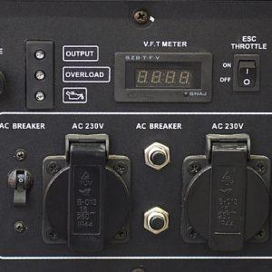 גנרטור אינוורטר TG-8000ID מנוע בנזין