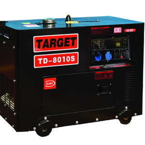 גנרטור TD מנוע דיזל מושתק לחירום דגם TD-8010S