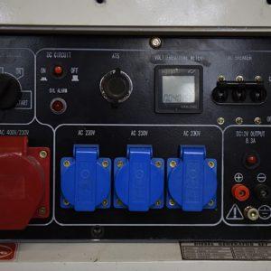 גנרטור TD מנוע דיזל מושתק לחירום דגם TD-8010ST