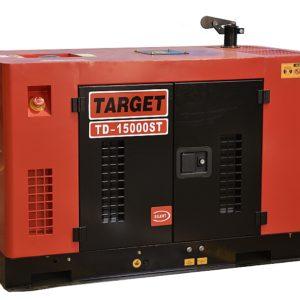 גנרטור TD מנוע דיזל מושתק לחירום דגם TD-15000ST