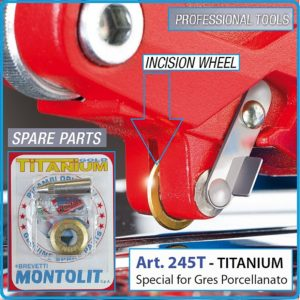 להב טיטניום למכונות חיתוך קרמיקה MONTOLIT