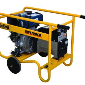 רתכת גנרטור GW200DC-DS מנוע דיזל והתנעה חשמלית