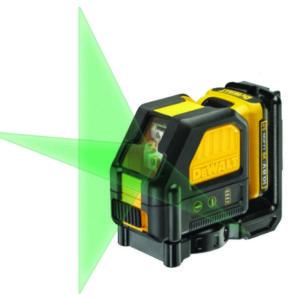 פלס לייזר ירוק 10.8V- 2 קרניים