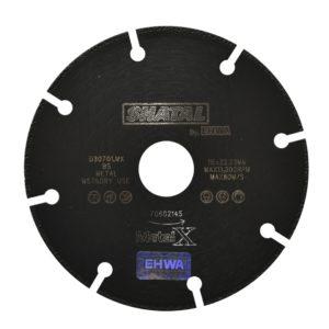 """דיסק יהלום """"4.5 Metal X למתכת"""