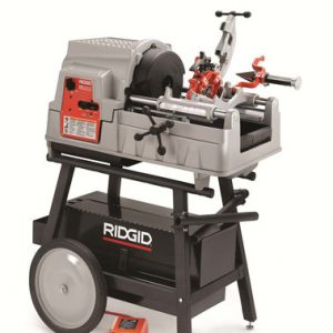 """מכונת הברגה 535 פוטר אוטומטי עד """"2 תלת פאזי  מתוצרת RIDGID"""