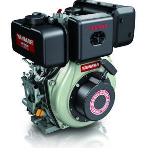 """מנוע דיזל 6.7 כ""""ס ציר ישר + מתנע L70N6CA1T1AA מתוצרת Yanmar"""