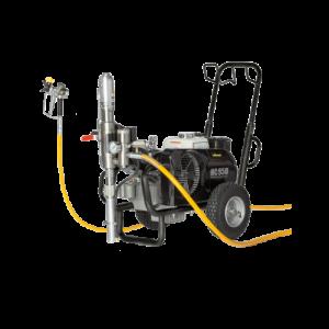 מערכת צביעה איירלס בוכנתית דגם: HC 950 G מתוצרת WAGNER