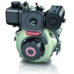 """מנוע דיזל 4.7 כ""""ס ציר ישר + מתנע L48N6CA1T1AA  מתוצרת Yanmar"""