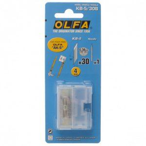 להבים לסכין גרפיקאים דגם: KB-5/30B מתוצרת OLFA