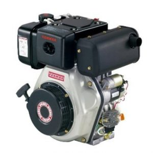 """מנוע דיזל 10 כ""""ס ציר ישר L100N6CF1T1AA מתוצרת Yanmar"""