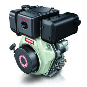 """מנוע דיזל 10 כ""""ס ציר ישר L100N6CA1F1AA מתוצרת Yanmar"""